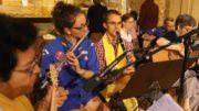 L'orchestre et la chorale