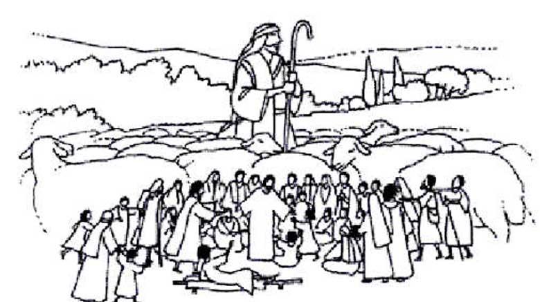 4ème dimanche de Pâques -B : Laissons nous guider le Christ est notre porteur