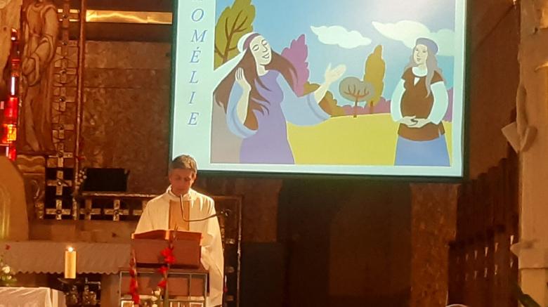 Une très belle messe de l'Assomption à la paroisse St Jean Bosco