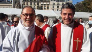 Christophe ordonné diacre : aimer Dieu, aimer l'Eglise et aimer nos frères !